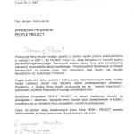 Firma 3PP świadczyła usługi doradztwa personalnego w zakresie audytu personalno - organizacyjnego oraz rekrutacji pracowników do działu handlowego oraz menedżerów ds. Marketingu i Promocji dla firmy Polmos Toruń S.A. (Referencje)